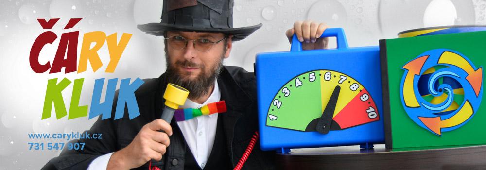 Kouzelník pro děti | ČÁRY KLUK zábava pro děti i dospělé