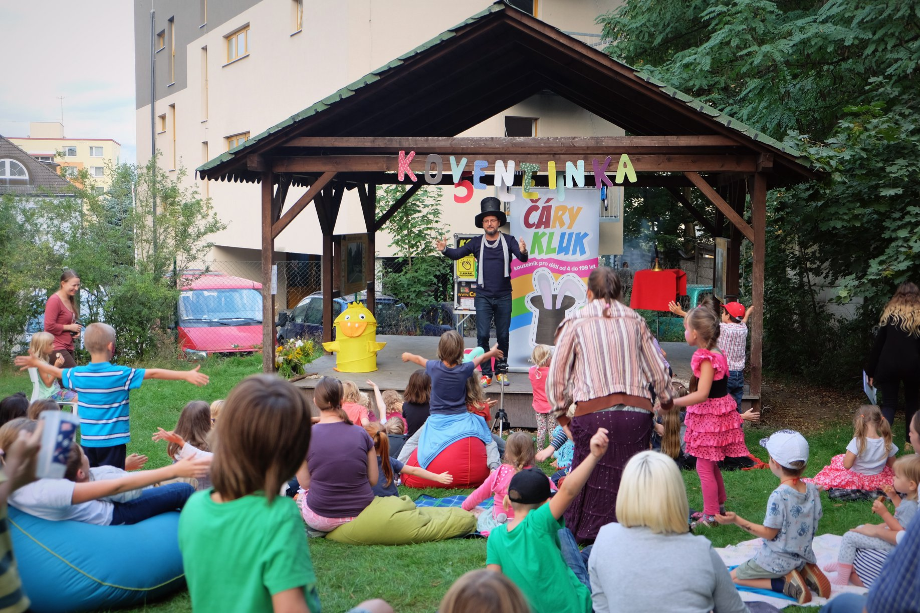 Kouzelník pro děti Čáry Kluk | Koventinka narozeniny Plzeň