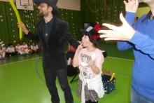Kouzelník v logopedické škole v Liberci