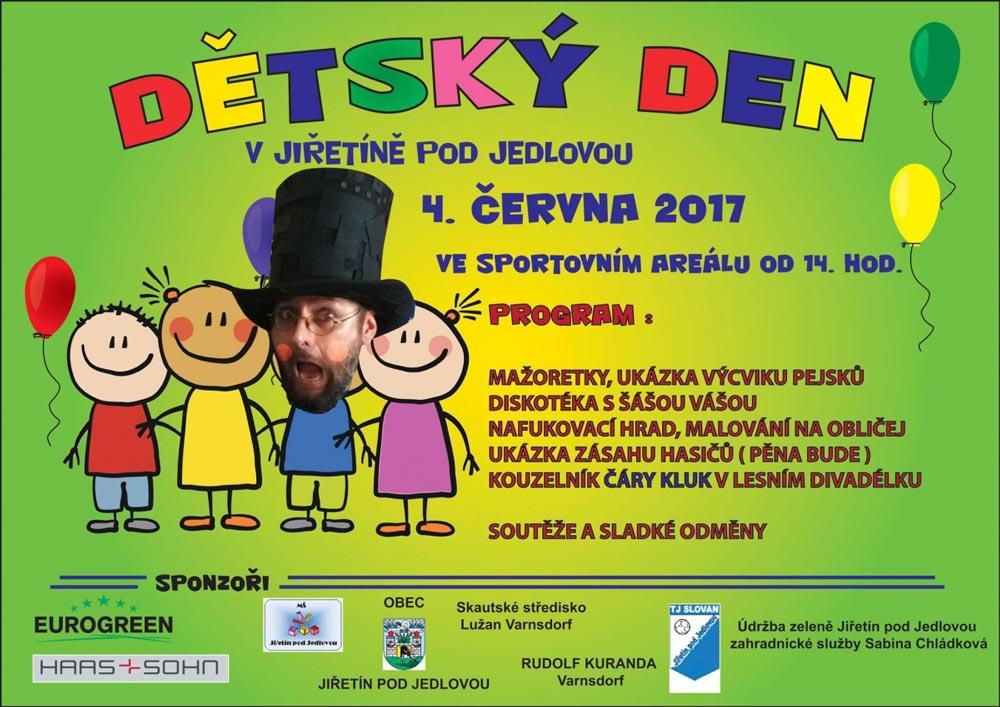 Dětský den v Jiřetíně
