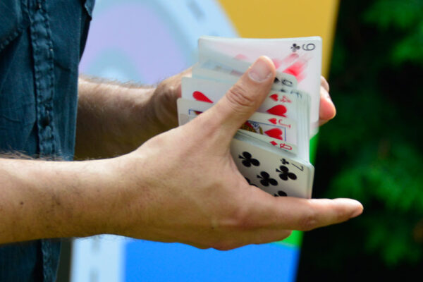 Karty kouzelníka Čáry Kluka | kouzelník pro děti