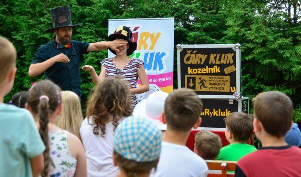 Kouzelník Čáry Kluk   kouzelník pro děti   malé i velké