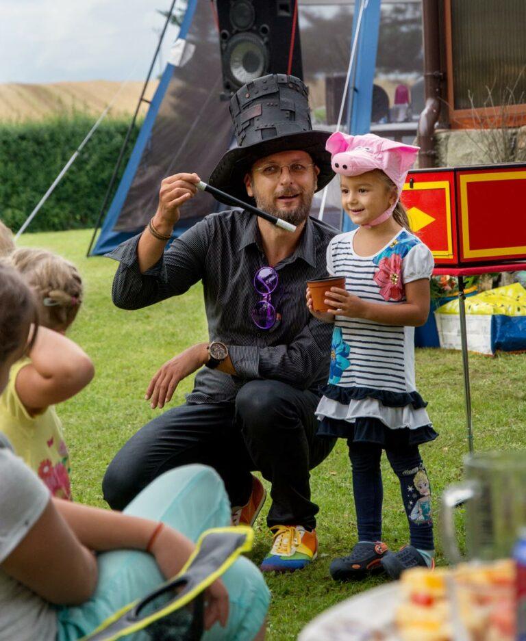 Kouzelník na narozeniny | Zábava pro malé i velké děti