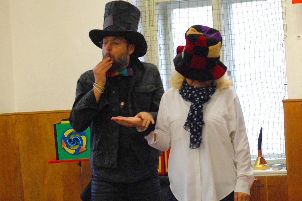 Kouzelník a učitelka