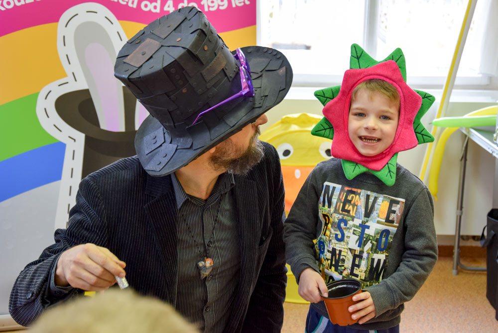 Kouzelník pro děti