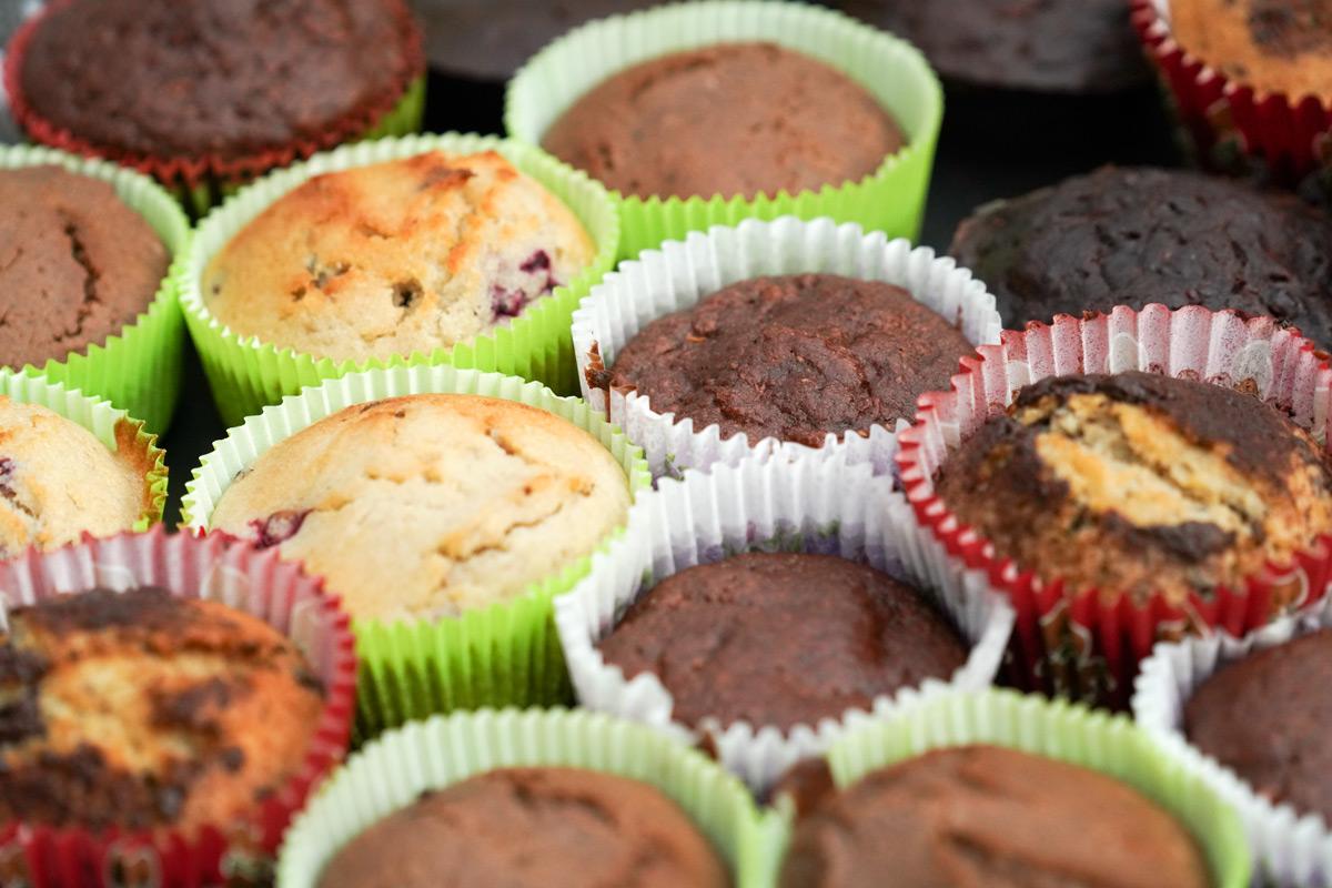 Muffiny na oslavě Koventinky