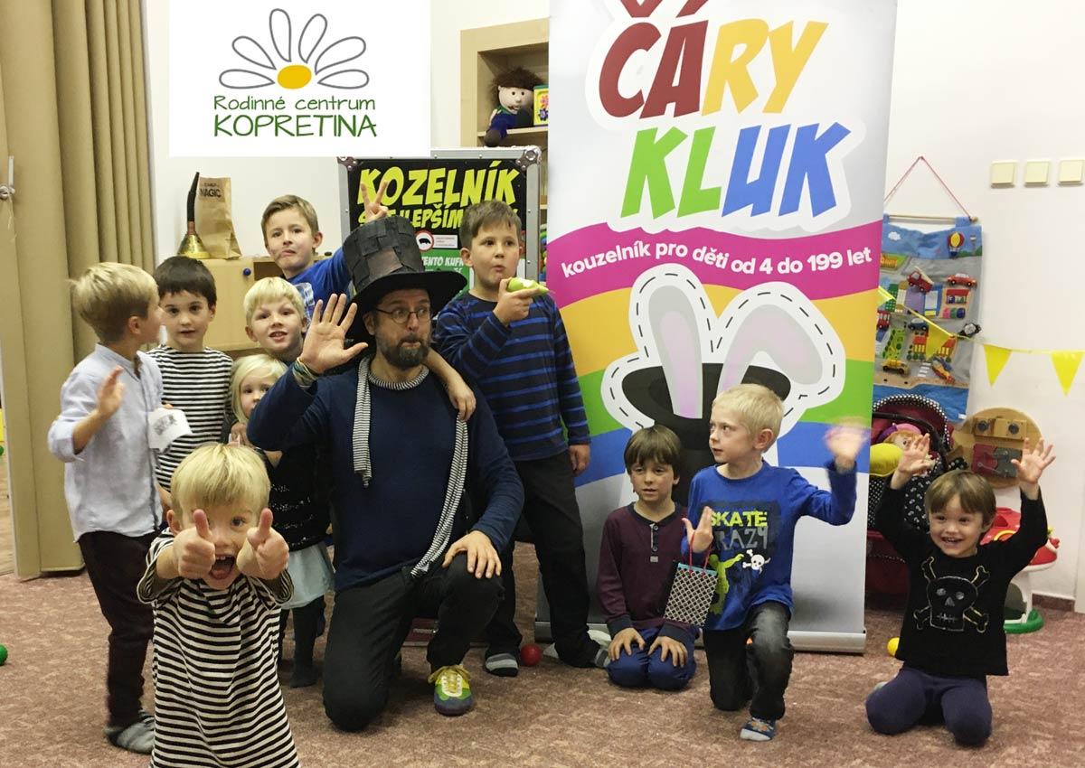 Kouzelník pro děti | Vrchlabí | Kopretina