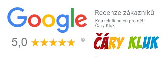 Recenze kouzelník Čáry Kluk Google
