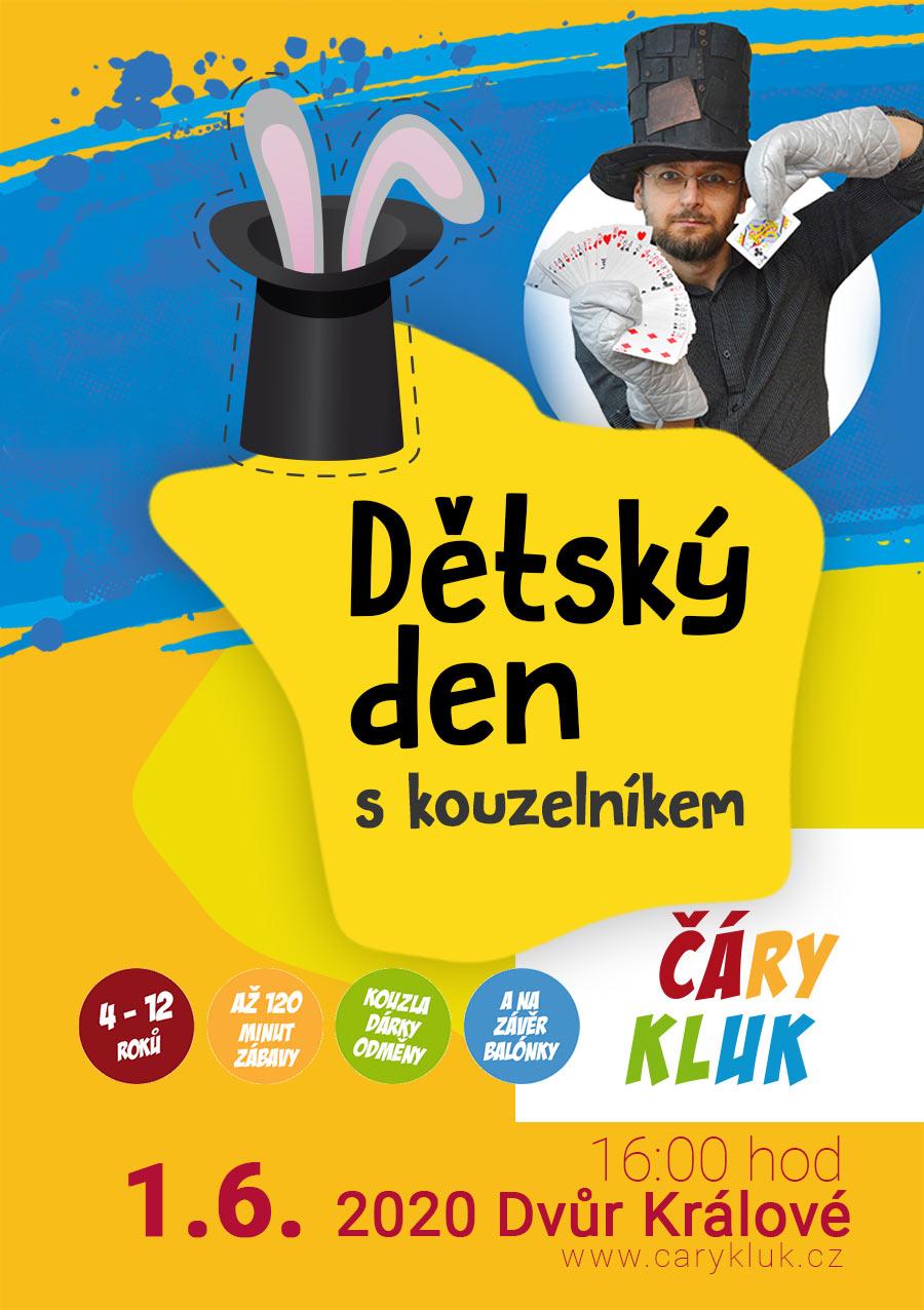Dětský den s kouzelníkem | Dvůr Klálové nad Labem