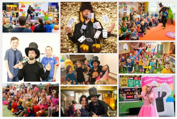 Kouzelník pro děti a dospělé | Čáry Kluk