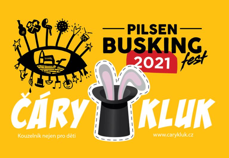 Kouzelník Busking Fest Plzeň